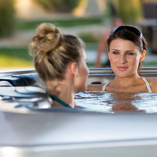Women in Bullfrog Spas