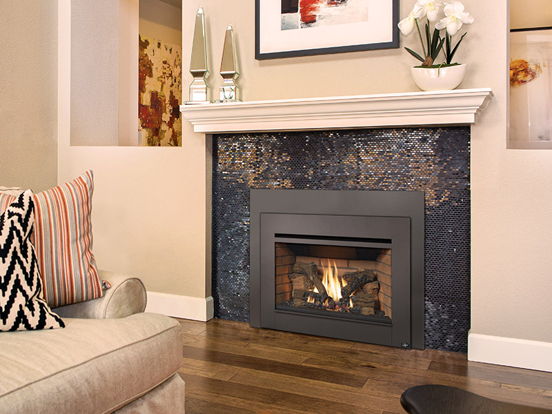 The Radiant Plus™ Large is an excellent choice for heating larger living spaces. This is our most powerful Radiant Plus™ Insert. This model showcases a huge viewing area, the highest heat output, and a realistic, wood burning fire display. The Radiant Plus™ Large insert is a serious heater and makes a beautiful focal point in any room.