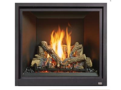 """The ProBuilder 36 Clean Face is our mid-sized model that is ideal for providing zonal warmth to individual rooms in the home, such as family rooms and offices. The tall dancing flames and elegant """"clean face"""" appearance of this fireplace will add both beauty and warmth to any living space."""