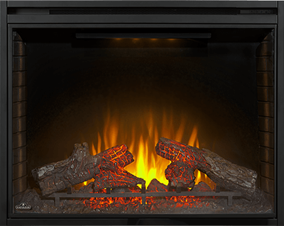 The Ascent™ Electric Fireplace is an easy to use electric fireplace unit that can simply be plugged in and turned on. Enjoy a traditional looking wood fire without the work or cost of one. Install into an existing fireplace opening, hardwire, or purchase as part of a mantel set. Heat large spaces easily while enjoying the look of a realistic fire.